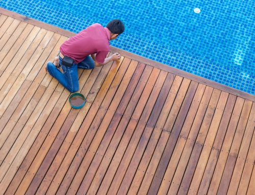 Deck Repair, Painting and Finishing Project, Before & After