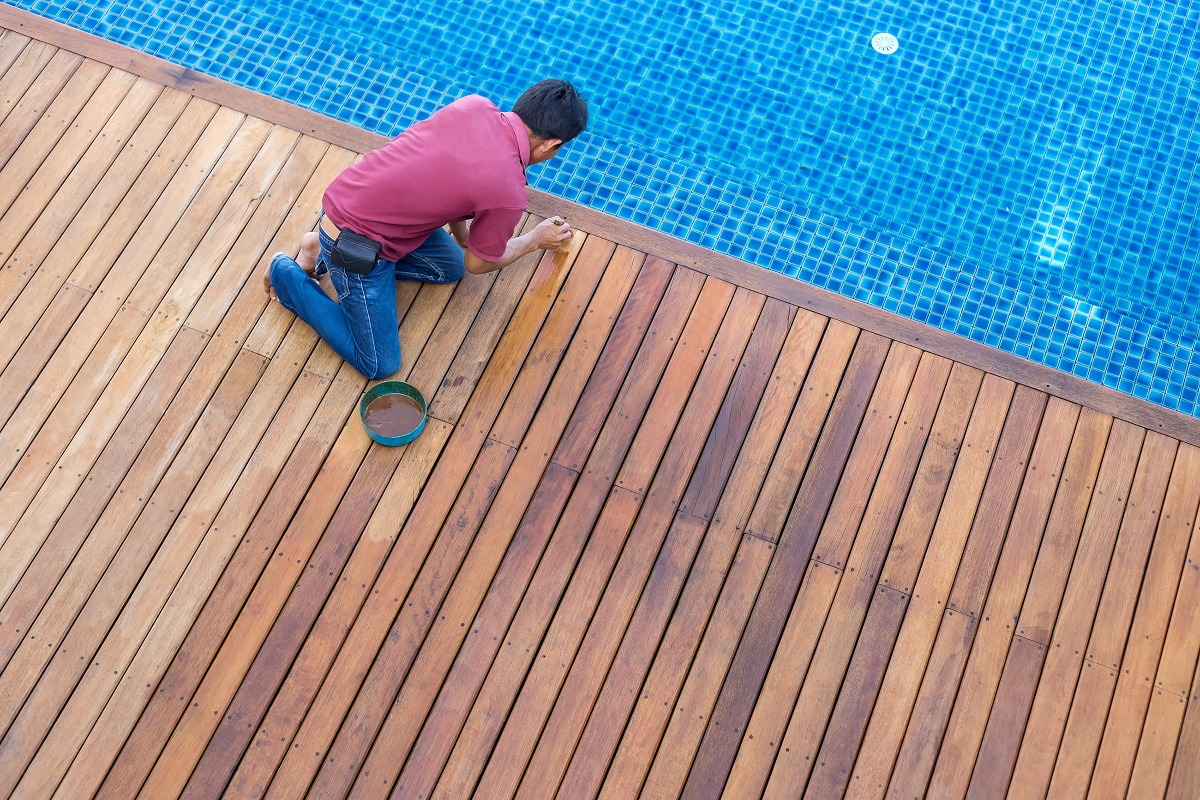 Deck Repair, Painting and Finishing Project