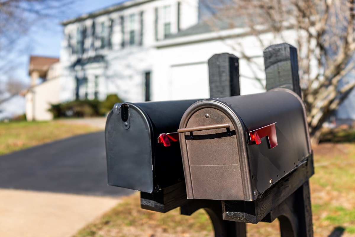 Mailbox Repair Project, Before & After